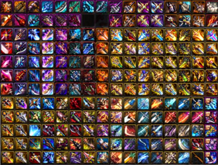 DNF:阿拉德最強收藏傢,收集所有鬼劍士武器12年如今僅差16把-圖5