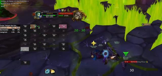 魔獸世界懷舊服:3人68分鐘殺希爾蓋,帶37個躺屍老板暢遊NAXX-圖6