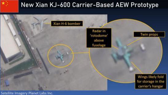 空警-600横空出世,美媒:机体落后,只装有一个雷达阵列!