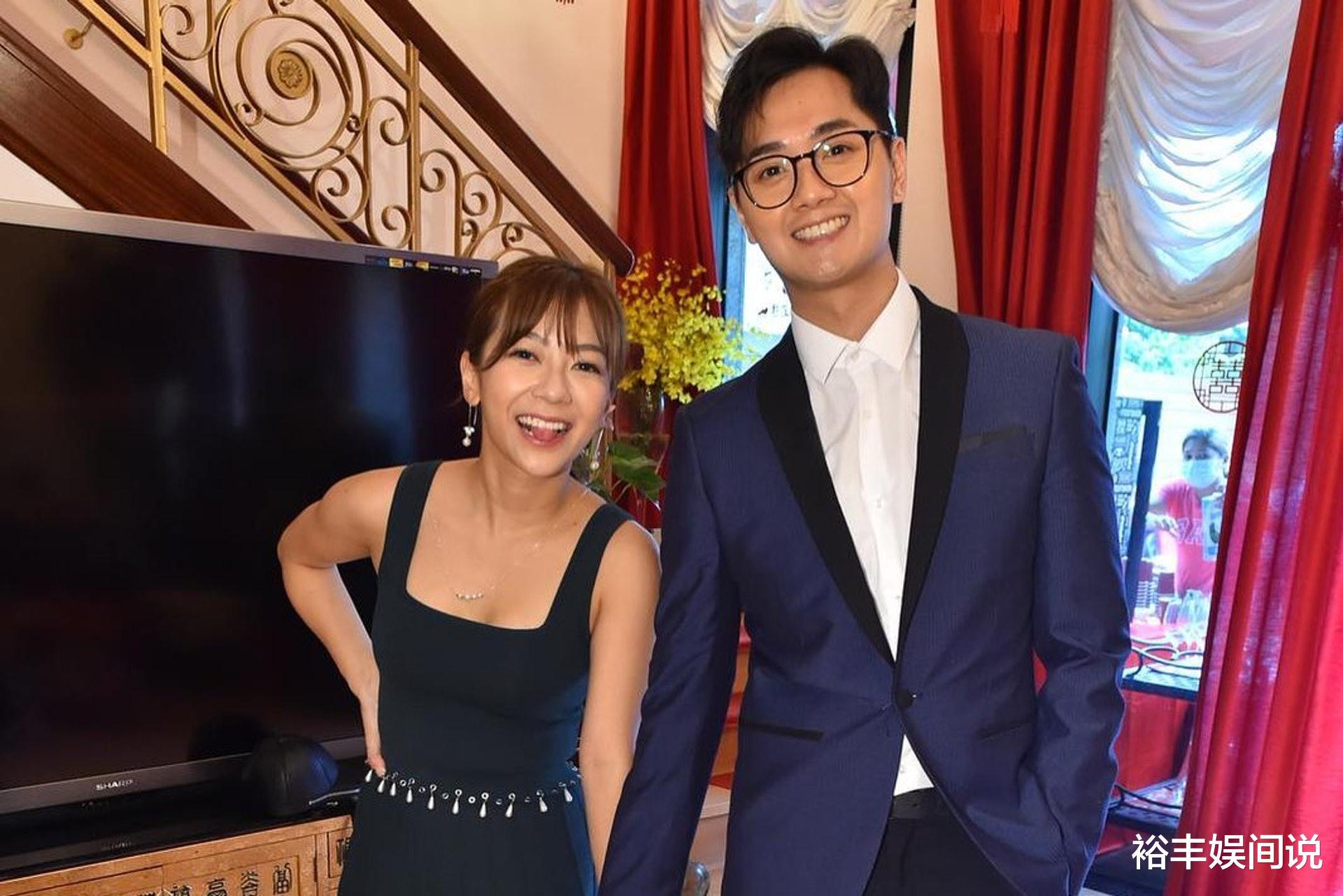 恭喜!TVB小花何雁詩今日出嫁,戴三對大龍鳳鐲,頸掛一隻大金豬-圖9
