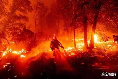 美國山火是一場人為大型氣象武器現場,對全球局勢造成瞭新的影響!-圖3