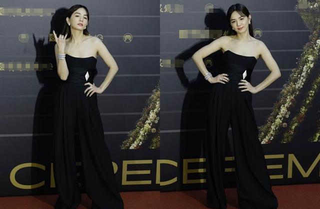 金曲獎星光黯淡,女星靠奇裝異服博出位,徐若瑄紫色禮服狀態最佳-圖3
