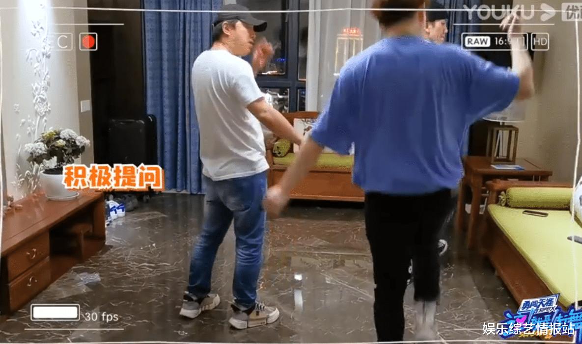 《街舞3》黃渤街舞出場大秀幕後練習視頻曝光 頂級編舞師Eleven全程陪伴練習-圖4