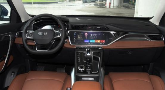 吉利新款SUV,時尚的展現也可以滿足各年齡段-圖3