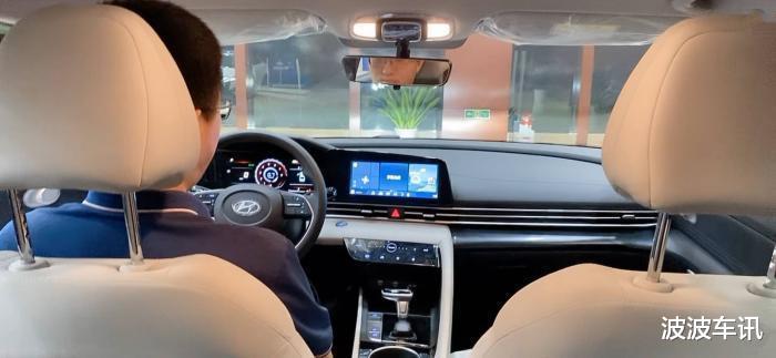 全新國產現代伊蘭特實車亮相,整車顏值很高,北京車展預售-圖5