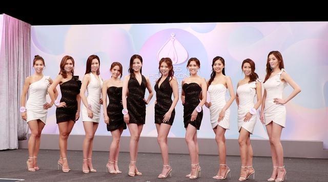 2020香港小姐15強結果出爐,眾佳麗戴透明口罩現身發佈會爭奇鬥艷-圖3