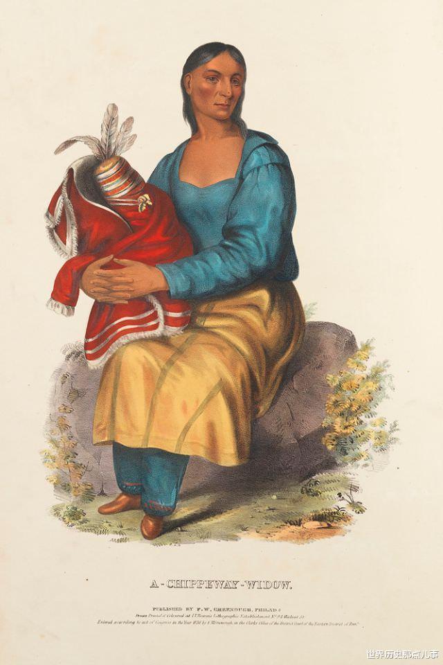 舊影拾記:19世紀,印第安人到華盛頓談判,美國畫傢給他們畫像-圖2
