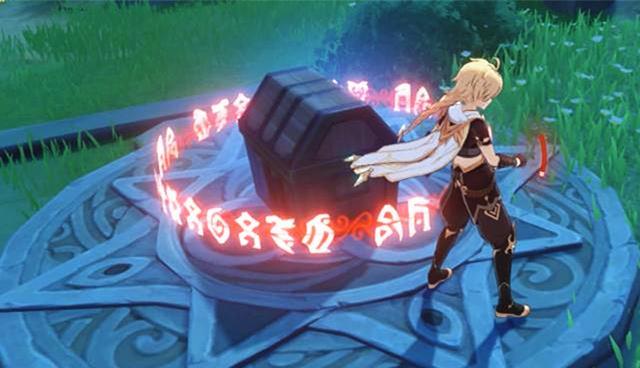 原神:野外尋寶套路多!帶你見識下遊戲世界裡的各種寶箱解鎖方式-圖3