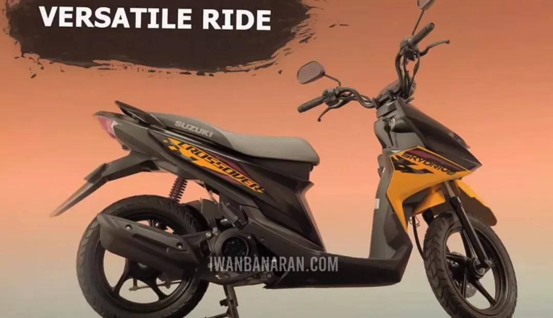 """""""越野""""踏板紮堆?鈴木發佈新款125cc跨界踏板-圖8"""
