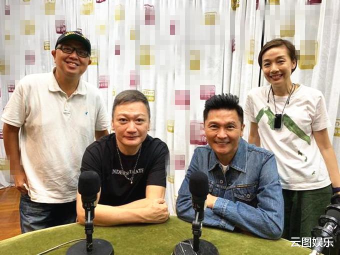 57歲陶大宇受訪,頭發灰白比58歲關禮傑顯老,感嘆TVB今非昔比-圖2