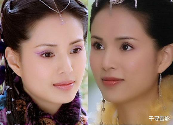 古裝劇裡的那些孿生姐妹,相同的容貌不同的裝扮和氣質,誰更勝一籌?-圖5