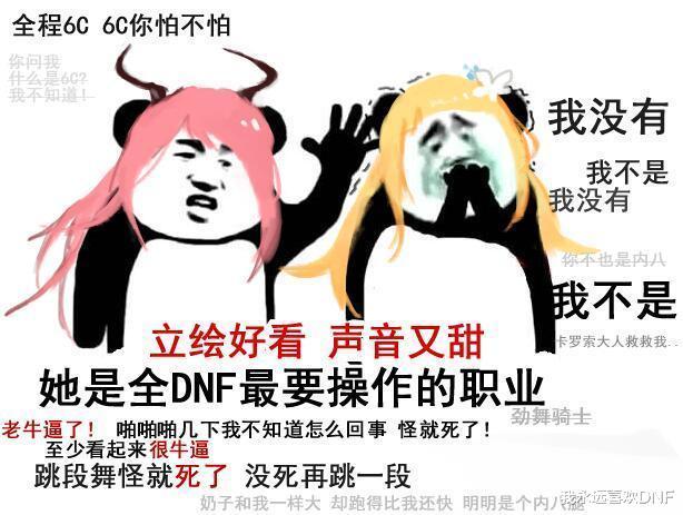 DNF:我不是,我沒有,不要再說瞭系列表情包-圖5