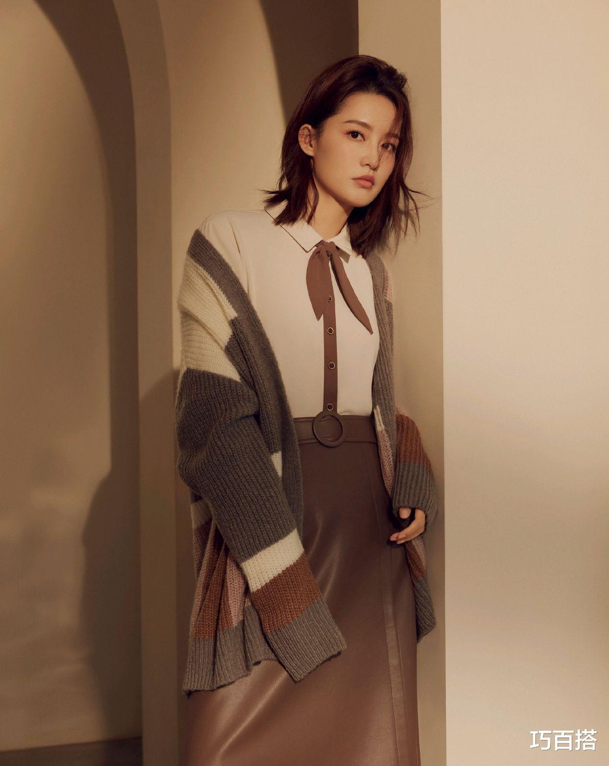30歲的李沁時尚品味不俗!七夕桃花妝粉面含春,簡直撩人於無形-圖6