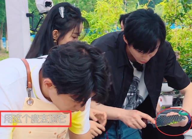 趙麗穎握刀手法錯誤,劉宇寧著急的忘喊姐,導演也不幫他改字幕-圖9