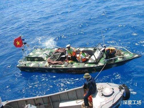 越南填海造島挖泥船沉沒,船員集體沉海:越南空投特種兵拼命救援-圖6