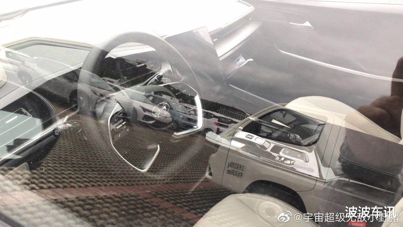 現代國產MPV無偽裝實車首次曝光,外觀很大氣,內飾很有科技感-圖3