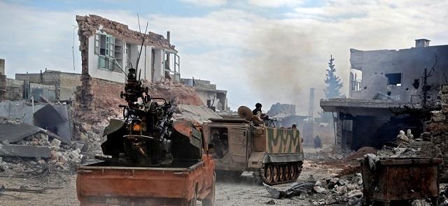 伊德利卜戰況激烈,敘防空部隊擊退空襲後反擊,生擒兩名叛軍頭目-圖4