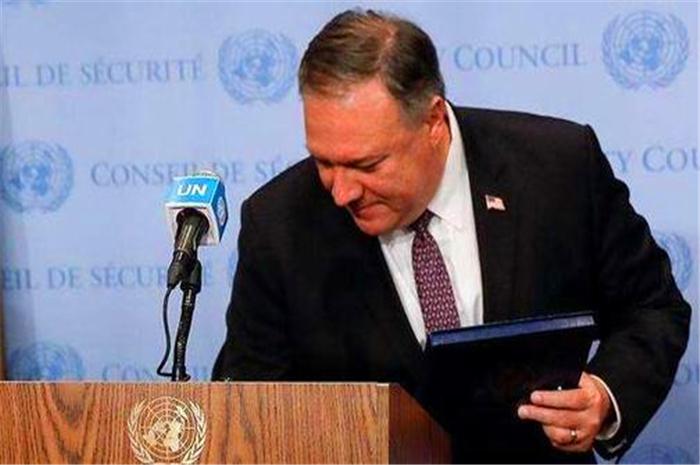 中俄英法德突然召開6國會議!宣佈美制裁無效,蓬佩奧笑不出來瞭-圖4