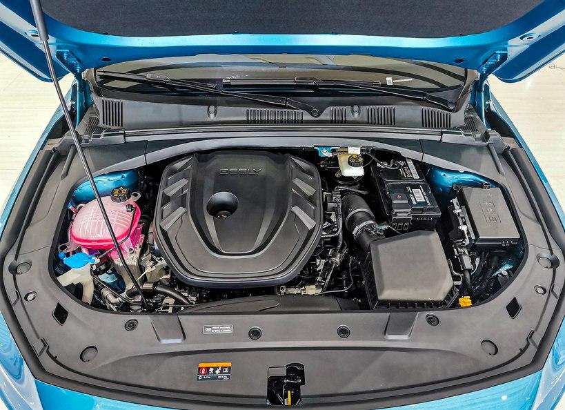 吉利星瑞,2.0T發動機,B級車的尺寸,13.77萬,比速騰值得買?-圖7