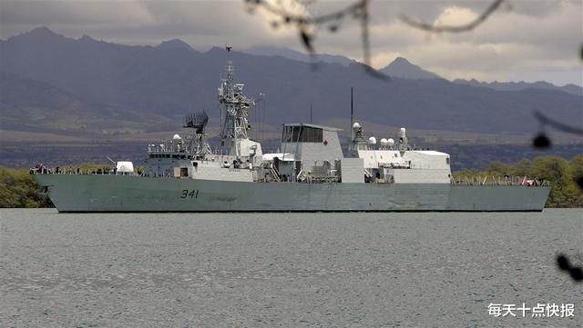加拿大護衛艦擅闖臺海,一個細節引爆輿論,中方早已有言在先-圖2