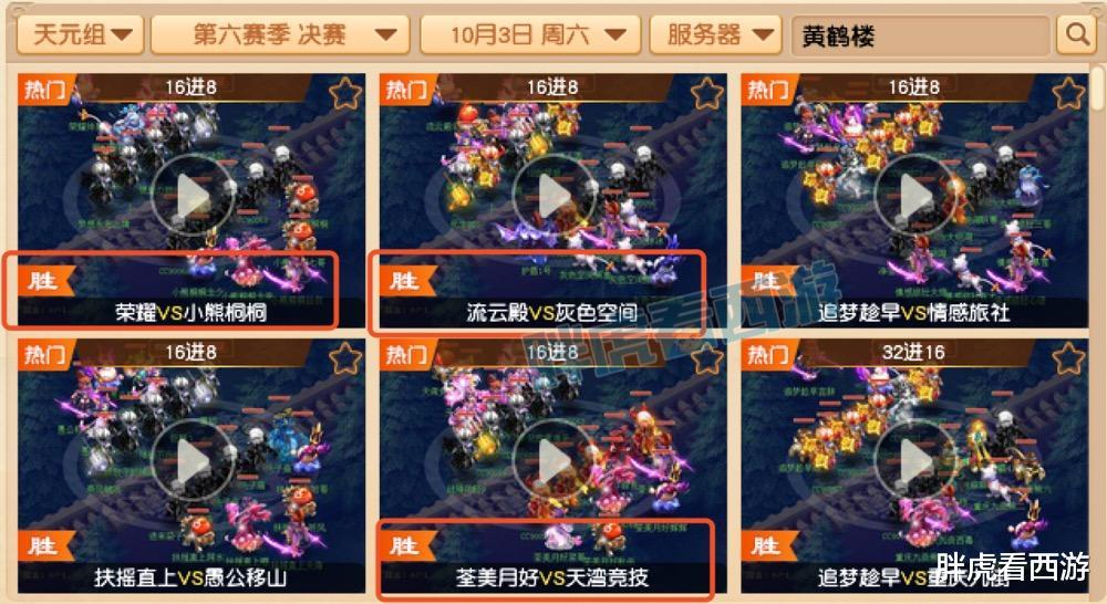 夢幻西遊:4大豪門無緣8強,珍寶閣鎖定群雄冠軍?-圖2