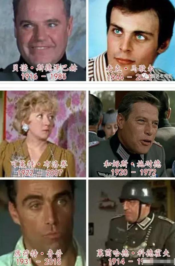《佐羅》、《虎口脫險》主要演員今昔照,大多已離開,永遠懷念-圖8