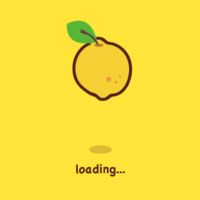 柠檬创意绘画