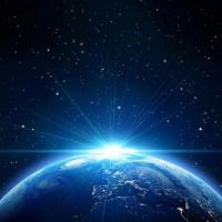 太空中的蔚蓝