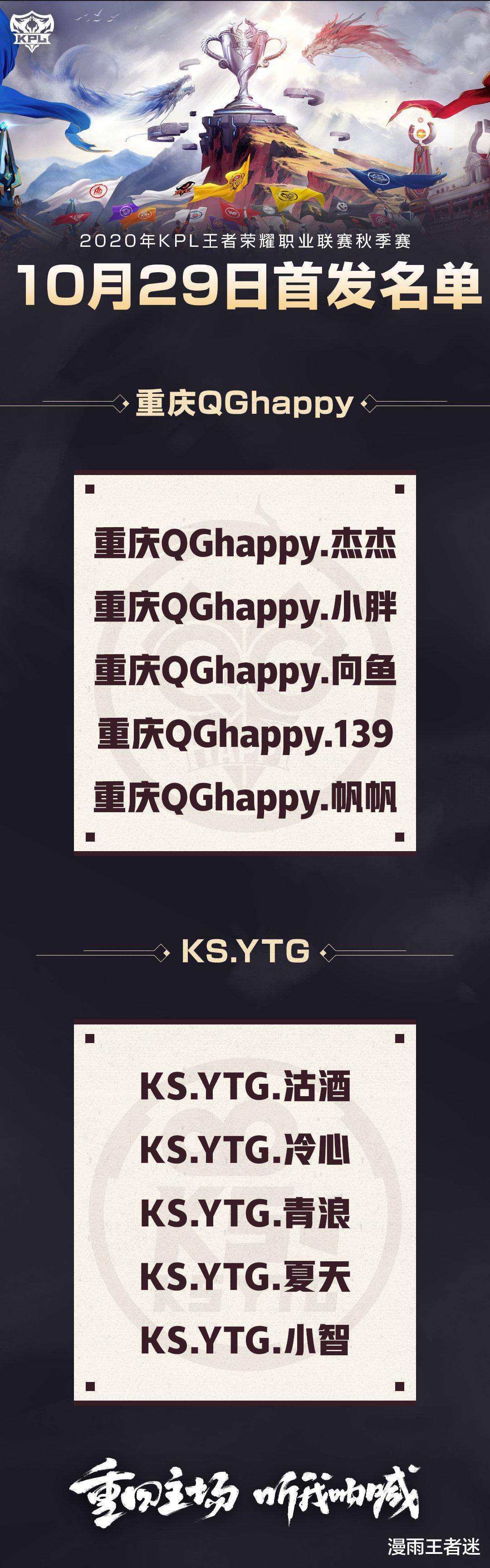 """warcraft3秘籍_QG对阵YTG首发:QG管理层在赌气,这是创造""""KPL新纪录""""的轮换!-第3张图片-游戏摸鱼怪"""