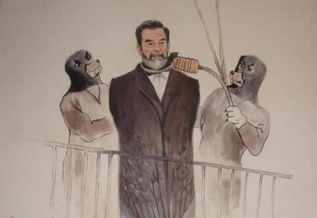 薩達姆被執行絞刑前提瞭三個簡單要求,分別是什麼?獲得準許瞭嗎-圖8