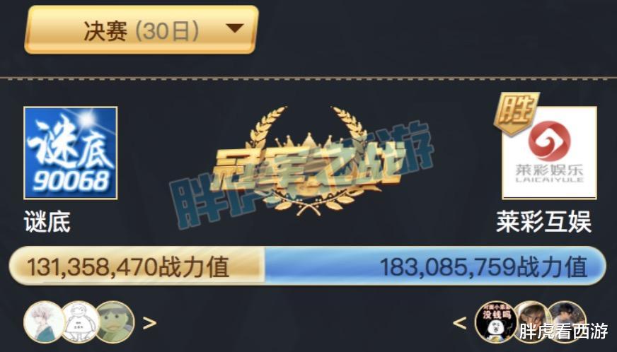 夢幻西遊:謎底痛失最佳遊戲公會,大話公會500萬優勢奪魁-圖2