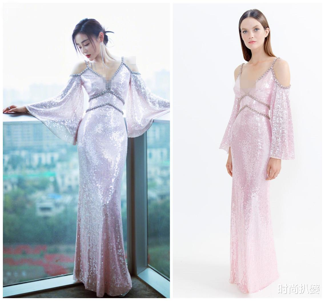 紅毯造型,49歲閆妮秀身材卻被妝容扣分,袁姍姍挑戰熱巴同系列人魚裙翻車-圖9