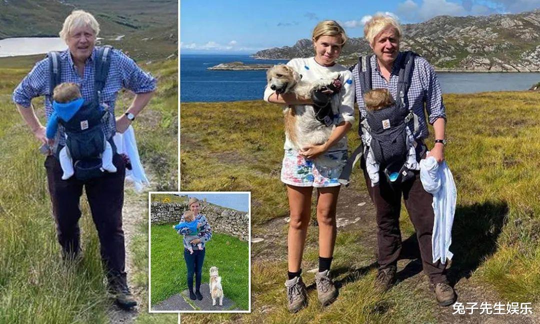 32歲英國第一夫人太邋遢,素顏帶5個月兒子度假,打扮土氣又凌亂-圖6