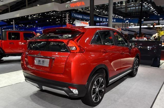 三菱SUV顏值王:1.5T+6AT,比繽智帥10倍,落地10萬看啥哈弗H6-圖6