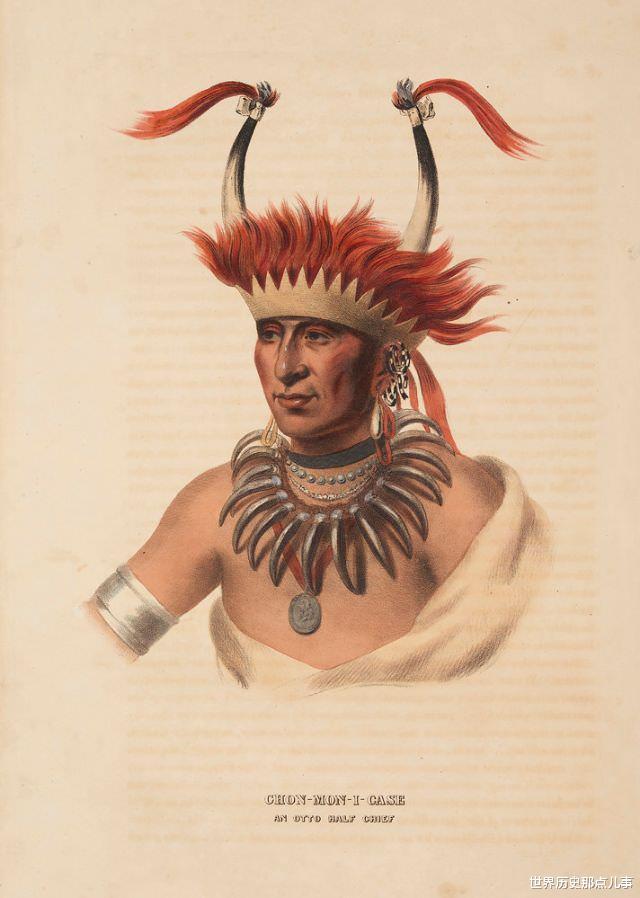 舊影拾記:19世紀,印第安人到華盛頓談判,美國畫傢給他們畫像-圖10