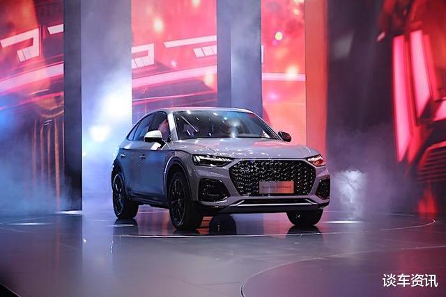 """""""奧迪Q5轎跑版""""將上市,配252匹2.0T高功引擎,燈組設計很科幻-圖6"""