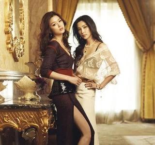 47歲李冰冰攜手39歲美女全智賢登封面,魅力不減,不容忽視-圖2