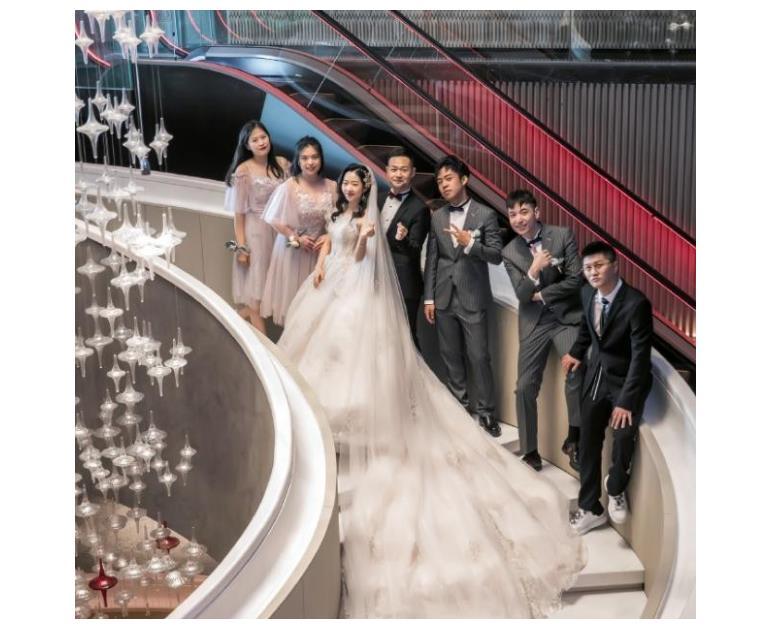 德雲社成員婚禮伴郎團,燒餅的牌面最大,李雲傑的最讓人感慨-圖3
