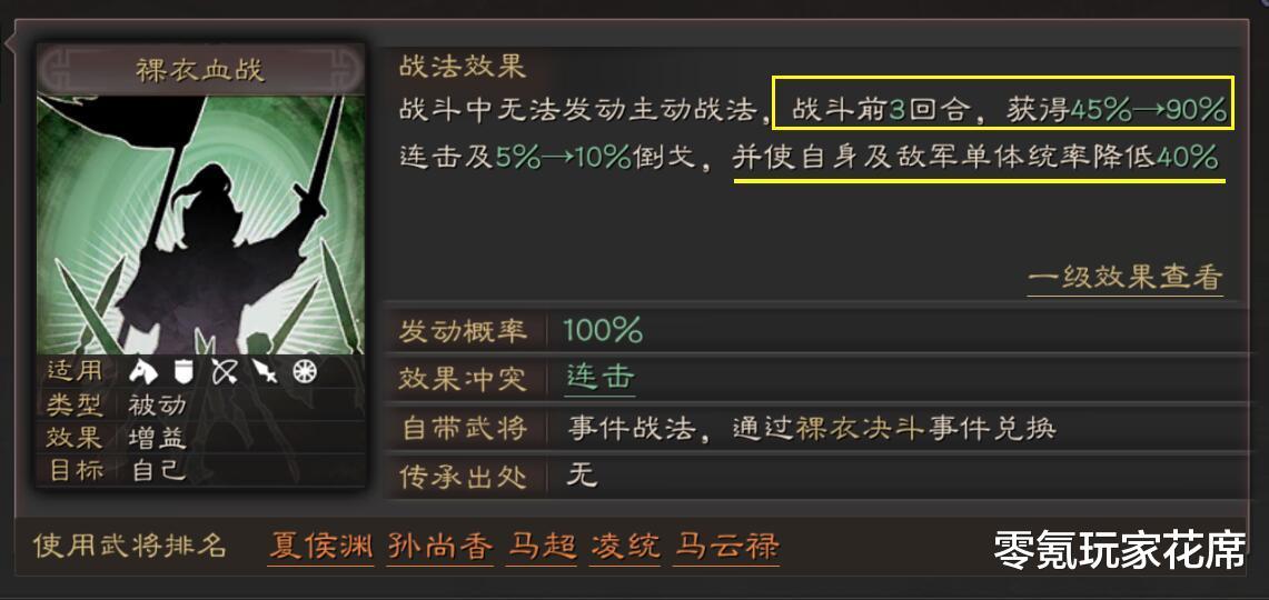 """三國志戰略版:張遼能否克制""""三勢陣陸遜"""",爆頭騎新玩法-圖6"""