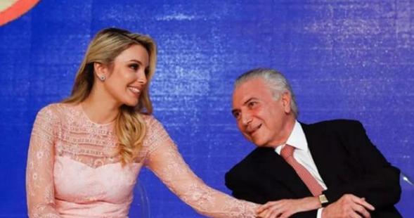 都說美國第一夫人顏值高,看看巴西總統小44歲嬌妻,才知啥叫楚楚動人!-圖4