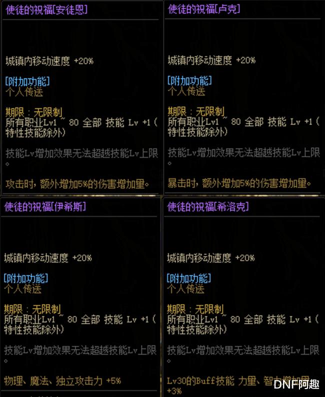 DNF:國慶光環和稱號都有4種類型,不會選怎麼辦?詞條系統國慶上線-圖3