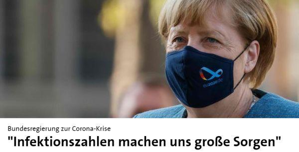 德新增感染數飆升,默克爾急瞭:再不嚴控,德國就是下一個重災區-圖2