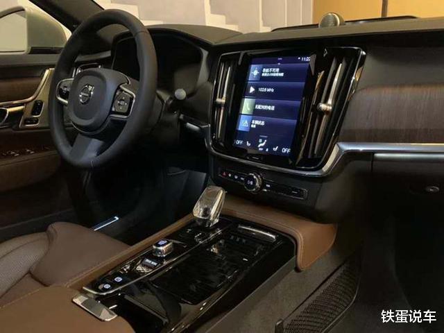 新中大型轎車沃爾沃S90到店品鑒,換同級別最強動力,配水晶擋把-圖9