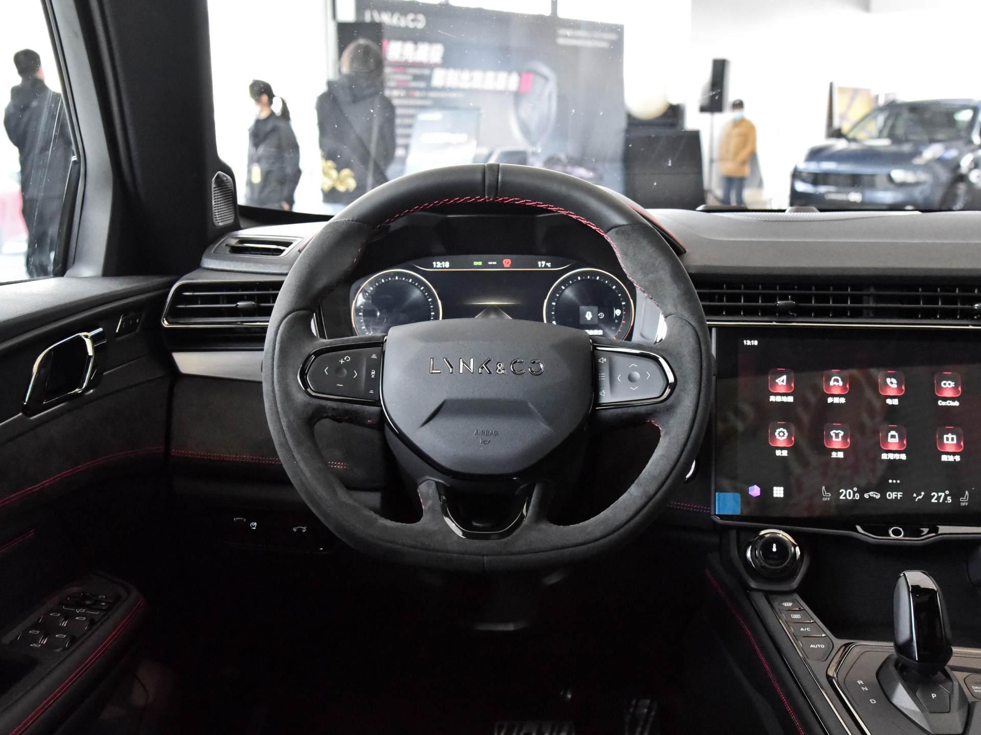 這臺外觀個性的領克SUV你會喜歡嗎,實拍領克05-圖6