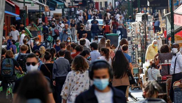 法國疫情全線告急:一天新增病例飆升近5成!最高紀錄又被打破瞭-圖2
