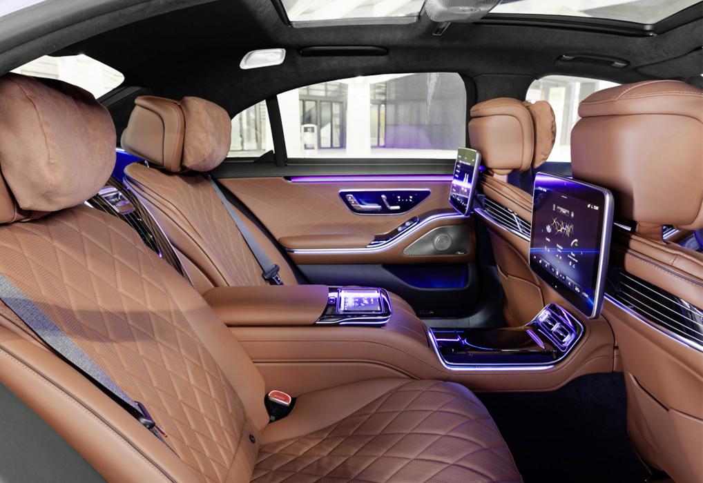 奔馳王牌轎車終於換代!車寬2109mm,標配空氣懸架,比7系更舒適-圖5