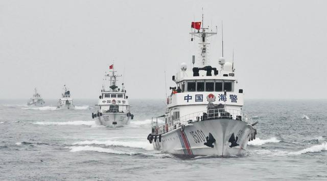 堅決維護海洋權益,中國允許海警使用武力,美日開始急得跳腳瞭-圖2