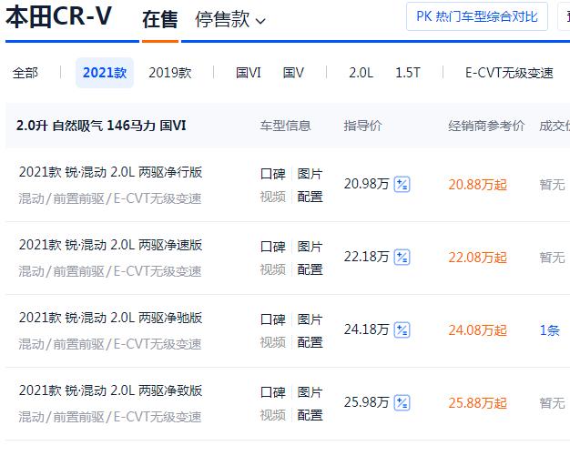 本田CRV混動/燃油怎麼選?有錢也別嘚瑟,買對瞭才聰明-圖4