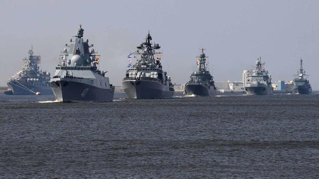 黑海艦隊旗艦殺向敘利亞,將進行大規模演習,俄:不針對北約-圖2