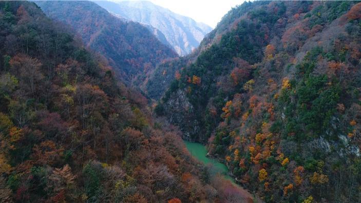 西安这条秦岭自驾路线,路虐、景美、人少,还有被藏起来的秘境